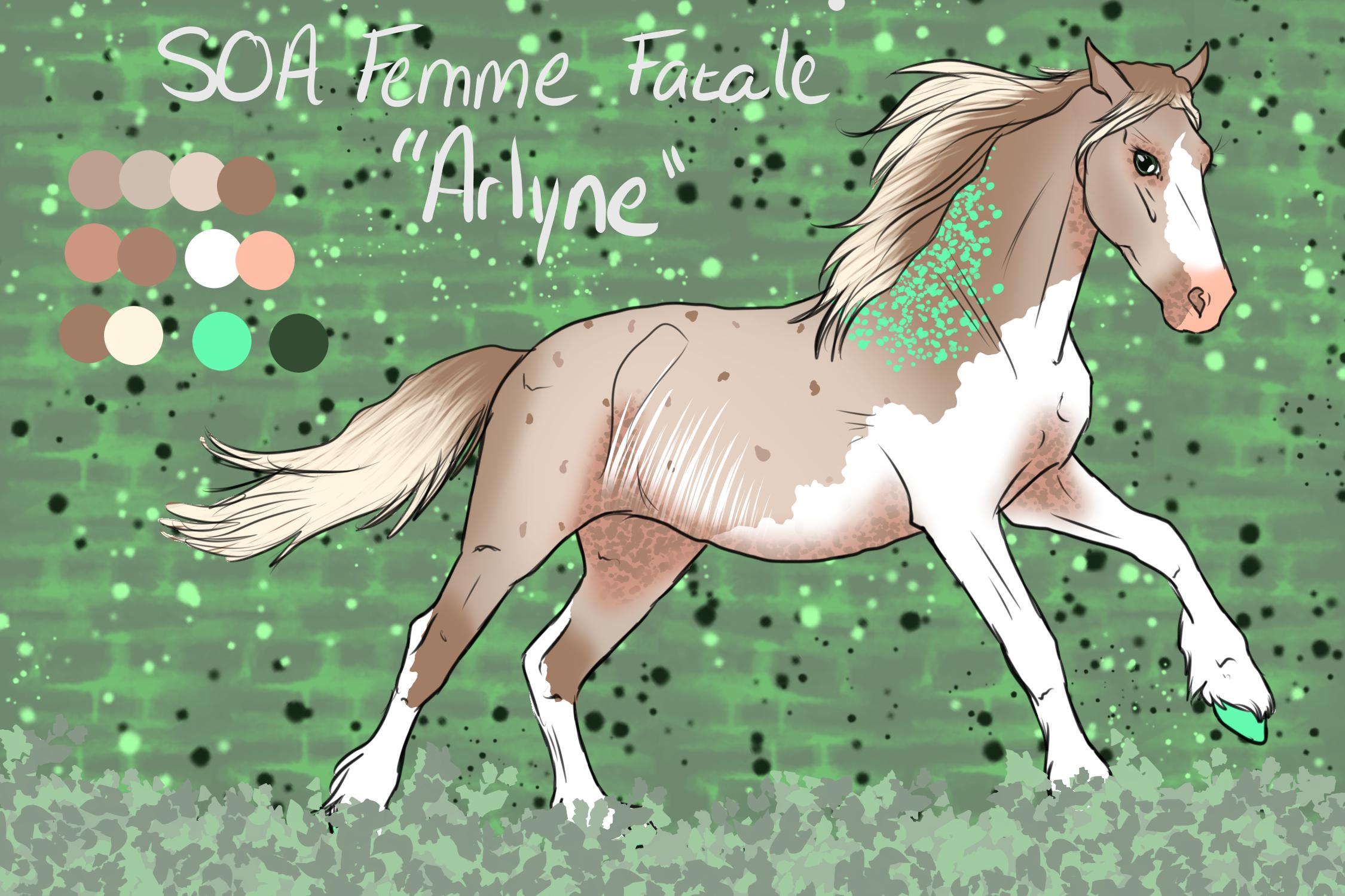 N5380 - SOA Femme Fatale AKA Arlyne