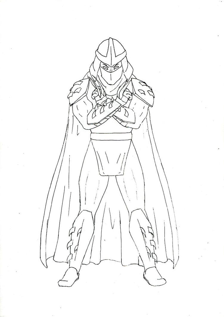 shredder coloring pages - photo#23