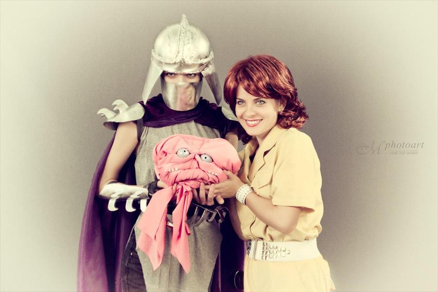 Mr and Mrs Shredder