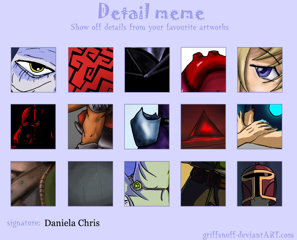 Detail meme digital by Daniela-Chris