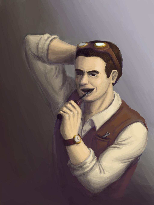 The Mechanic by Daniela-Chris