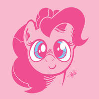 Pink Horse by SirScribble1