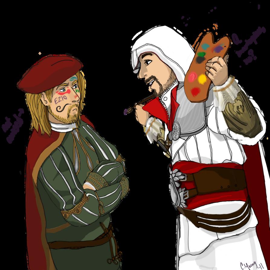 altair and ezio relationship