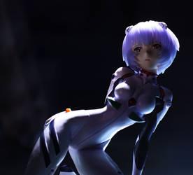 Rei Ayanami Kotobukiya by Karidzka