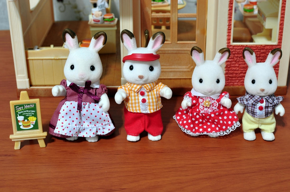 Sylvanians are cute! 1 by CelineHot