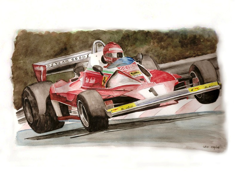 Niki Lauda by Leotrek