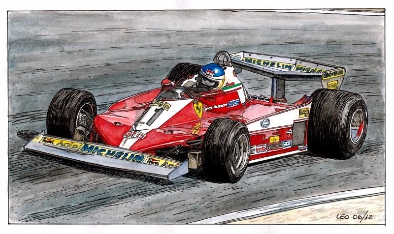 Ferrari 312 T3 by Leotrek