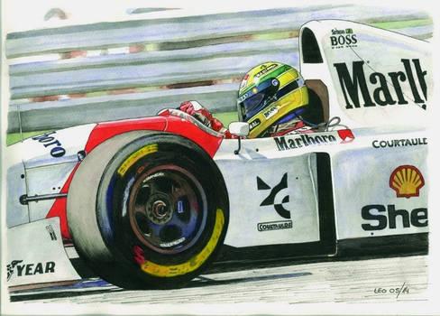 Ayrton Senna, McLaren MP4/8-Ford 1993