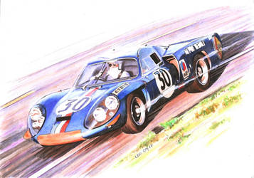 Alpine A220 by Leotrek
