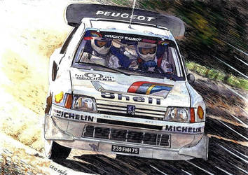 Peugeot 205 T16 E2 by Leotrek