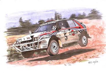 Lancia Integrale, Safari version