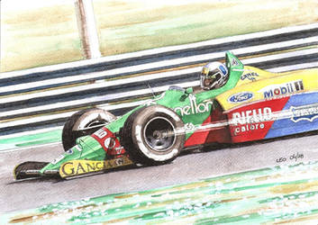 Benetton B188 by Leotrek