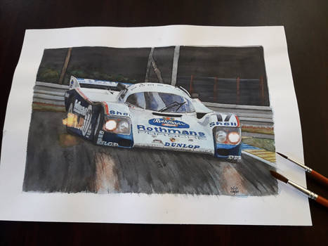 Porsche 962C, 1987 Le Mans winner