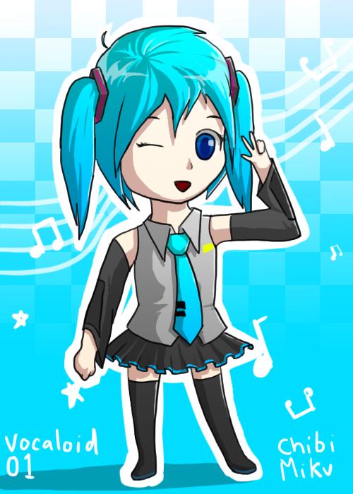 Chibi Miku by jibberldd5
