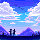 Mountains and Clouds by jibberldd5