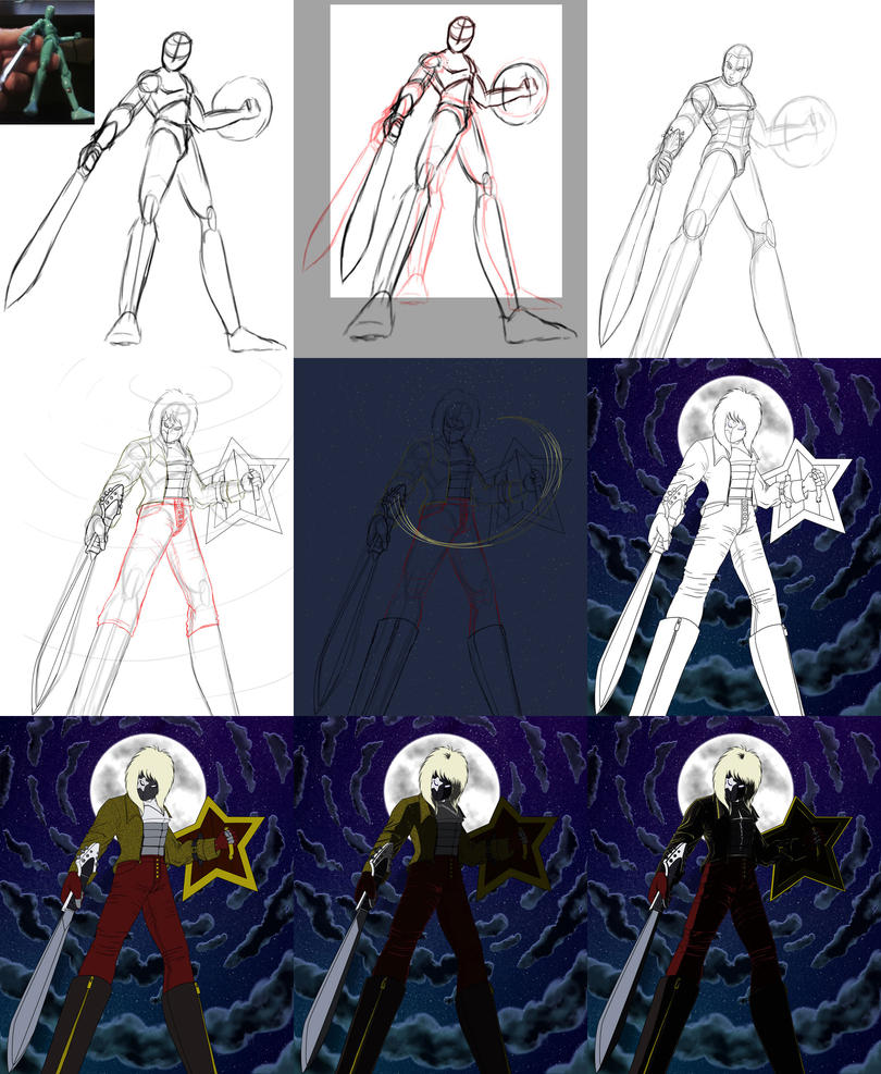 Starry Knight - WIP by Proto012