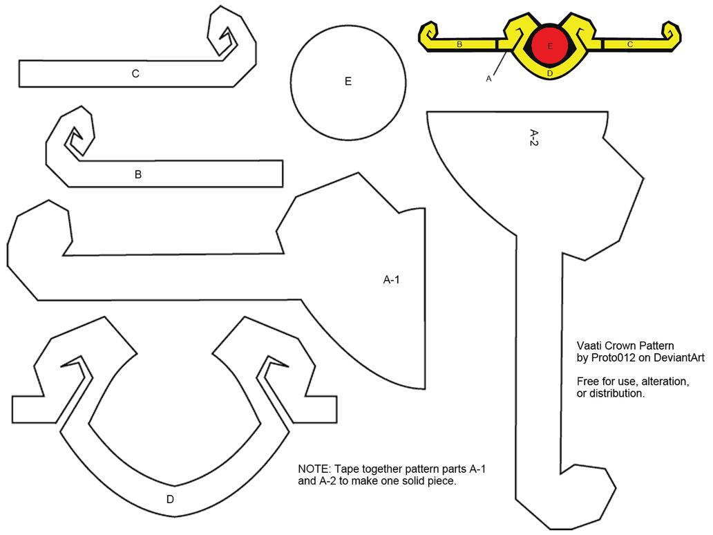 Vaati Crown Pattern by Proto012