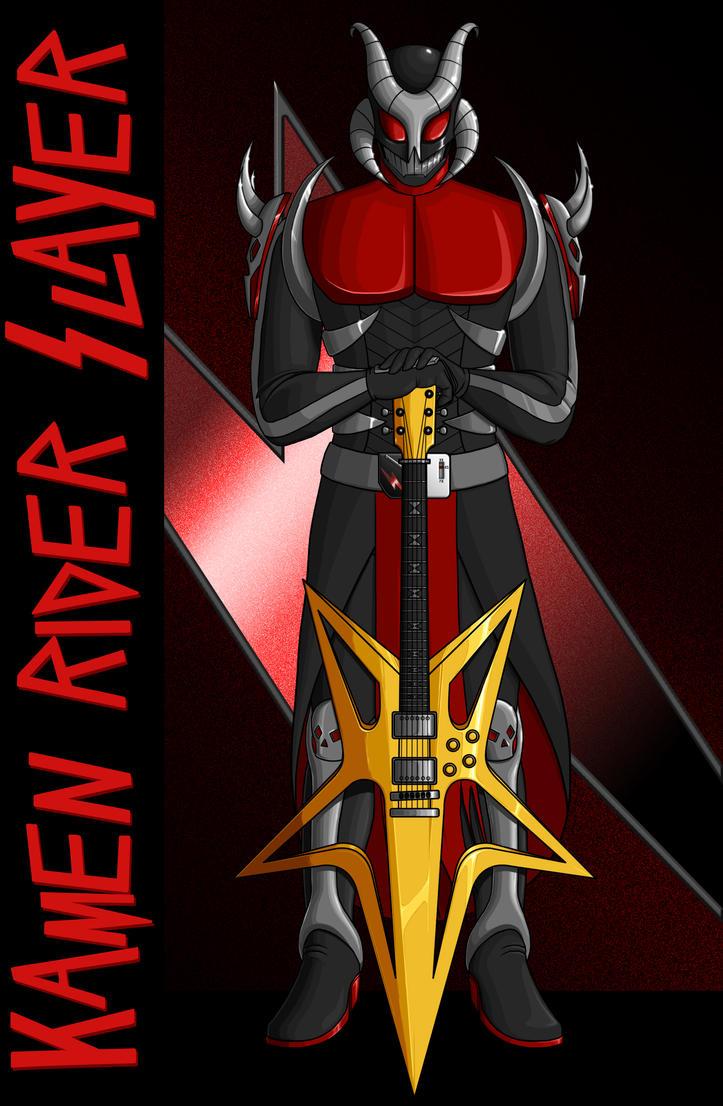 Kamen Rider Slayer (Ver. 1) by Proto012
