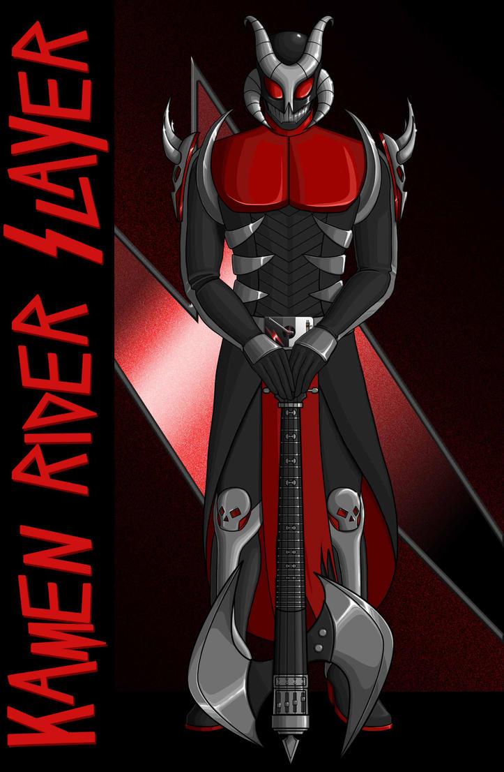 Kamen Rider Slayer (Ver. 2) by Proto012