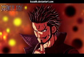 One Piece - Mihawk by Kozahh