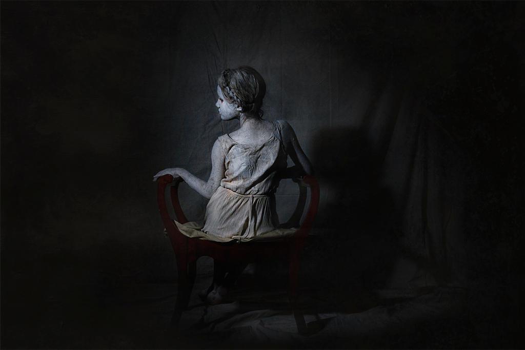 She, As a Ghostly Echo by SpokeninRed