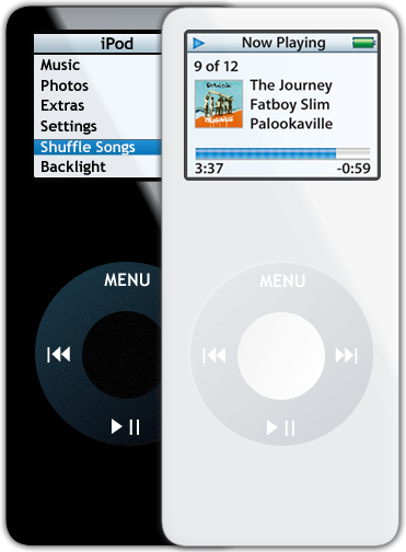 iPod Nano by xonTAB