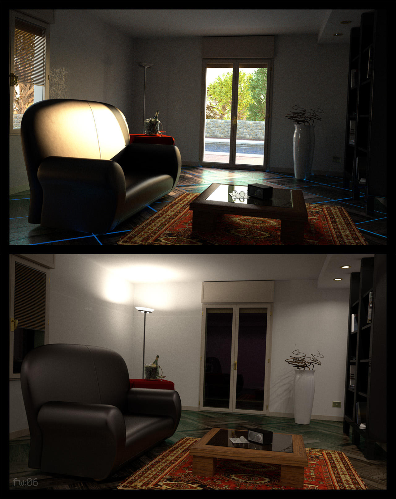 room: day+night by freewally on DeviantArt