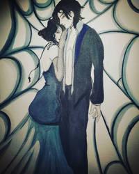 Mr and Miss Arachne by CeliniaTepes