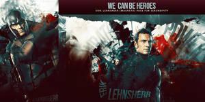 Erik Lehnsherr Pack - We can be heroes
