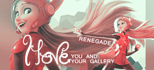 Love your gallery - button by skyelicius