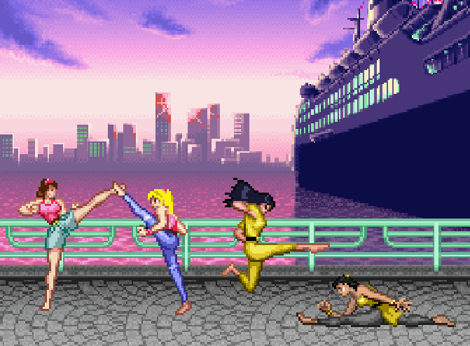 Mighty Morphin Fight Girls by 3DFootFan