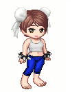 Gaia Avatar: Chun-LKi Wii Fit Outfit by 3DFootFan
