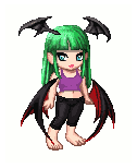 Gaia Avatar: Morrigan Aensland In Wii Fit Trainer by 3DFootFan