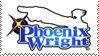 Phoenix Wright stamp by Makt91