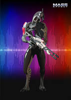 Mass Effect - Legion by KISbubi