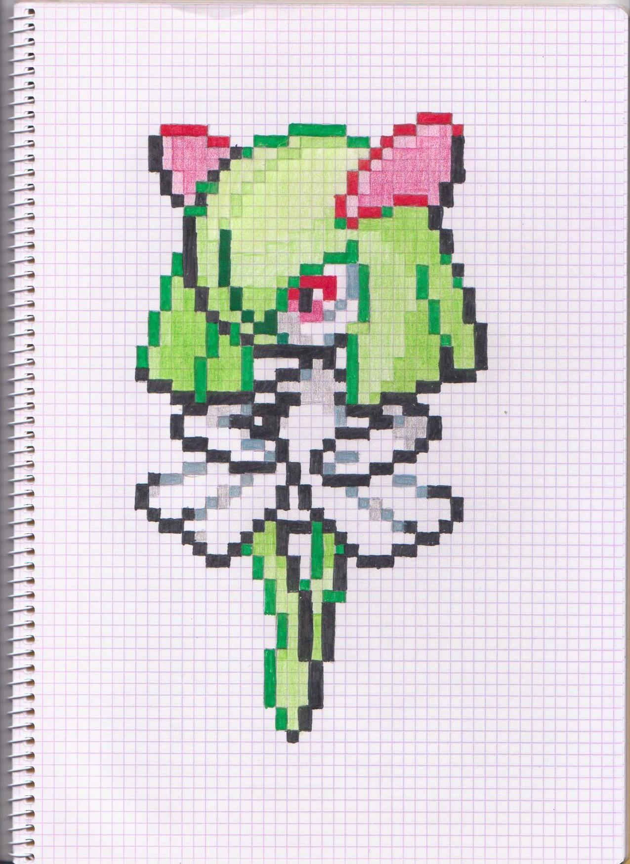 Pixel Art Kirlia By Andre1007 On Deviantart
