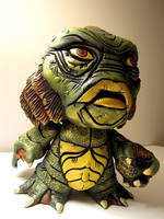 Creature From the Black Lagoon Munny by SEANVILORIA