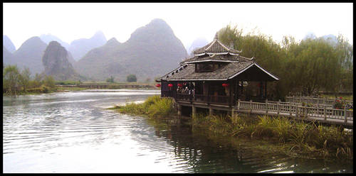 A scenery in China by mummycat