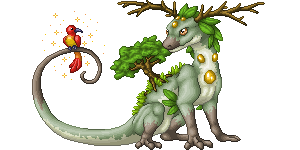 Plant Dragon - PixelArt by Suora91