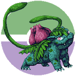 Pokemon Challenge - 002 Ivysaur by Suora91