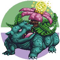 Pokemon Challenge - 003 Venusaur by Suora91
