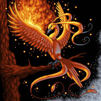 Phoenix - PixelArt by Suora91