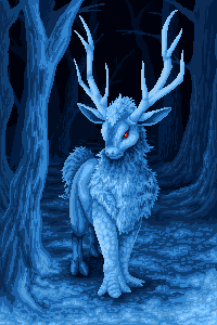 Winter Spirit - My Pixel Winter Contest by Suora91