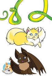 Cutie Creatures Designs