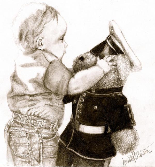 Usmc Teddy Bear Talmage And Marine Teddy Bear