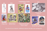 Commission Guide by mazosia