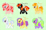 MLP:FIM Adoptables [ALL SOLD]