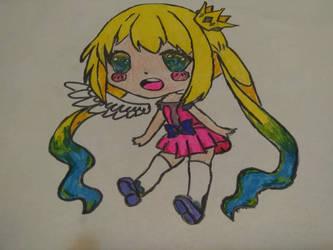Chibi random girl :3 by NikoBitanBraateee