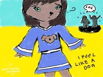 Dog feelings xD by NikoBitanBraateee