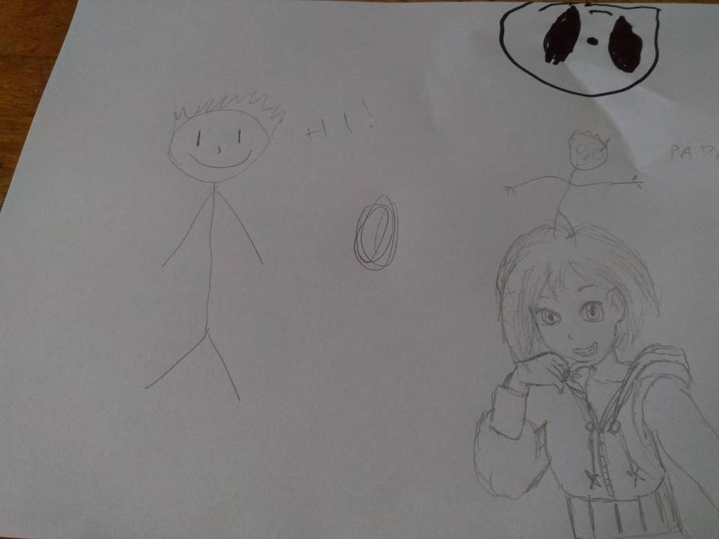 When my little sister and i draw xD by NikoBitanBraateee
